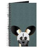 African wild dog Journals & Spiral Notebooks