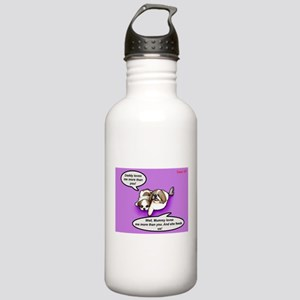 Daddy loves me more th Stainless Water Bottle 1.0L