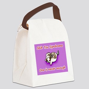 Shih Tzu Syndrome Canvas Lunch Bag