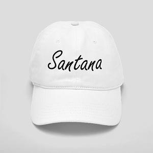 Santana surname artistic design Cap
