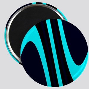 Wavy Davey Turquoise Black Anthony's Fave Magnets