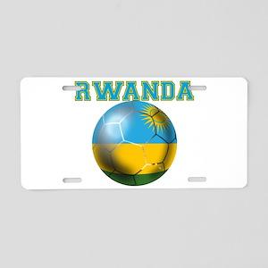 Rwanda Football Aluminum License Plate