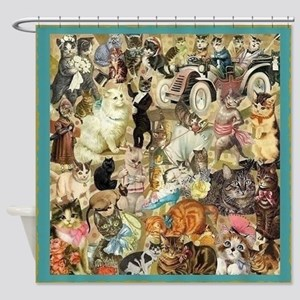 Cats, Cats, Cats! Shower Curtain