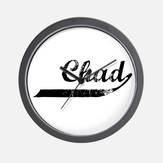Chad Flanger Wall Clock
