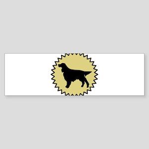 Gordon Setter (seal) Bumper Sticker