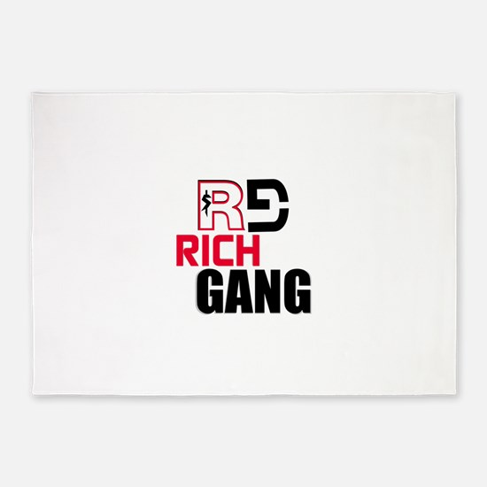 RICH GANG 5'x7'Area Rug