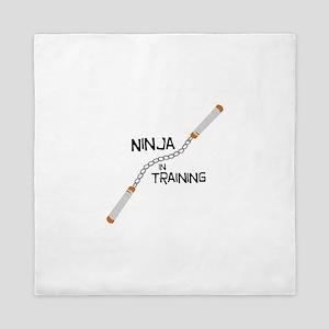 Ninja In Training Queen Duvet