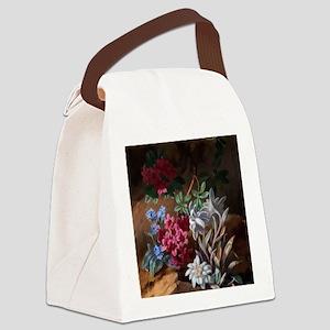 Alpen Blumen by Adele Schuster Canvas Lunch Bag