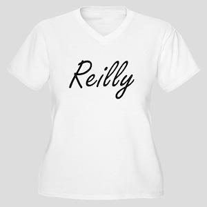 Reilly surname artistic design Plus Size T-Shirt
