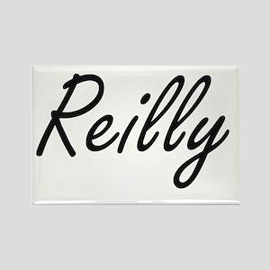 Reilly surname artistic design Magnets