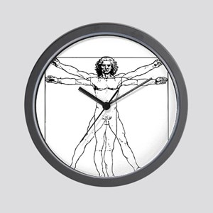 Da Vinci Vitruvian Man Wall Clock