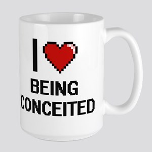I love Being Conceited Digitial Design Mugs
