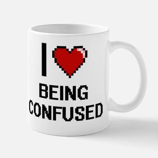 Funny Being confused Mug
