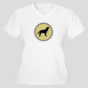 American Water Spaniel (seal) Women's Plus Size V-