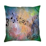 Music Everyday Pillow