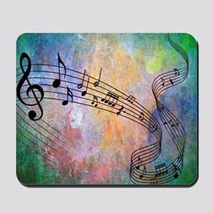 Abstract Music Mousepad