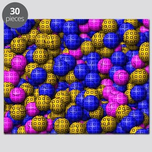 Patterned Balls Puzzle