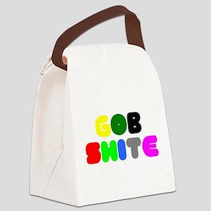 GOB SHITE! Canvas Lunch Bag