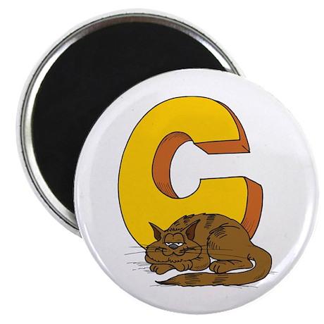 C For Cat Magnet