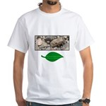 Baby Fence Lizard White T-Shirt