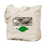 Baby Fence Lizard Tote Bag
