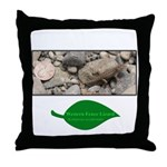 Baby Fence Lizard Throw Pillow