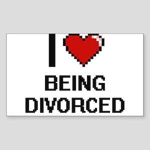 I Love Being Divorced Digitial Design Sticker