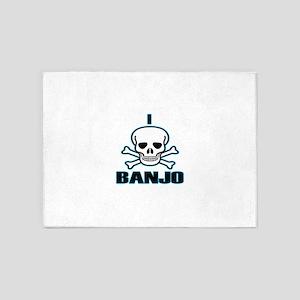 I Hate Banjo 5'x7'Area Rug