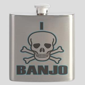 I Hate Banjo Flask