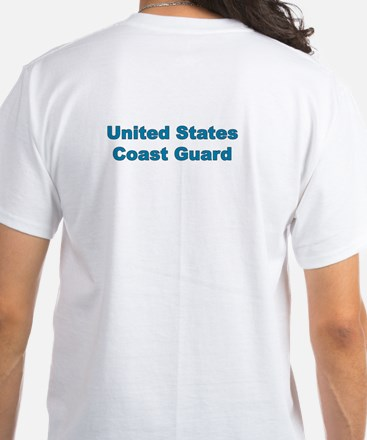 Coast Guard White T-Shirt