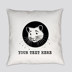 Personalized Hamster Everyday Pillow