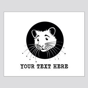 Personalized Hamster Small Poster