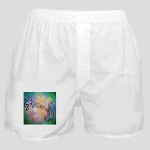Abstract Music Boxer Shorts