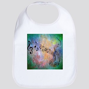 Abstract Music Bib