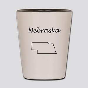 Nebraska Shot Glass