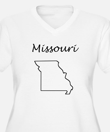 Missouri Plus Size T-Shirt