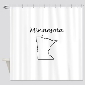 Minnesota Shower Curtain