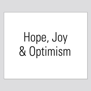 Hope&Joy Small Poster