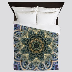 romantic purple abstract pattern Queen Duvet