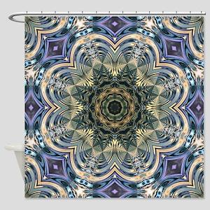 romantic purple abstract pattern Shower Curtain