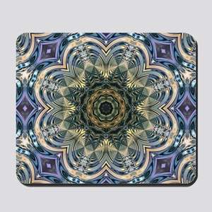 romantic purple abstract pattern Mousepad