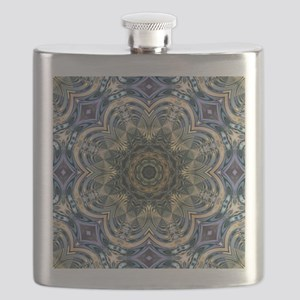 romantic purple abstract pattern Flask
