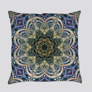 romantic purple abstract pattern Everyday Pillow