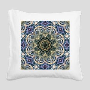 romantic purple abstract patt Square Canvas Pillow