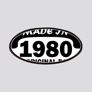made in 1980 born Patch
