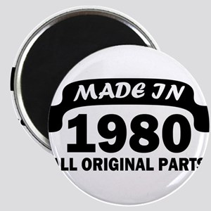 made in 1980 born Magnets