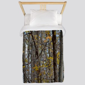 forest trees Camo Camouflage  Twin Duvet