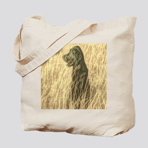 rustic country farm dog Tote Bag
