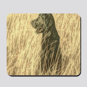 rustic country farm dog Mousepad