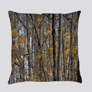 forest trees Camo Camouflage  Everyday Pillow